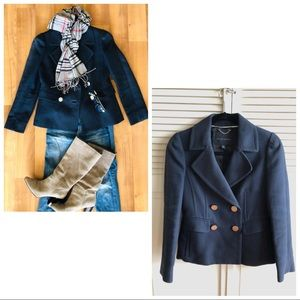 Banana Republic Navy Blue lined Coat/Blazer only
